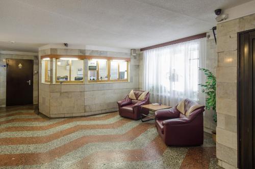 Лобби или стойка регистрации в Пулково Отель