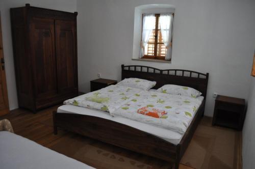 Postelja oz. postelje v sobi nastanitve Apartments Koptur