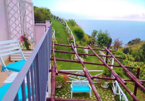 A balcony or terrace at Tenuta Solomita