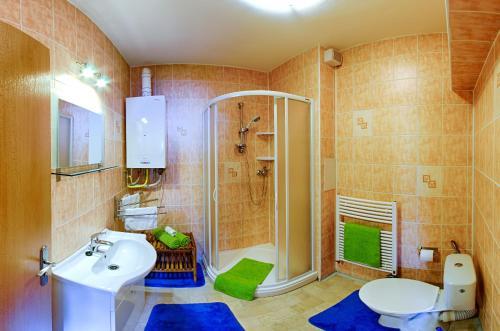 A bathroom at Apartment Marketa
