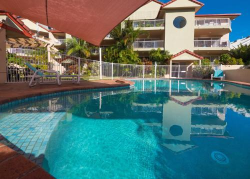 The swimming pool at or near Jubilee Views Holiday Apartments