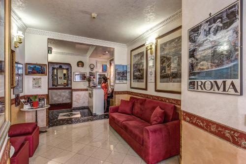 Hall o reception di Hotel Giuliana