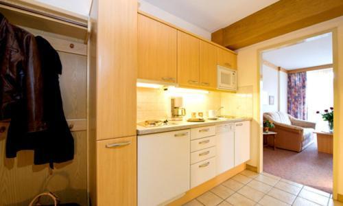 A kitchen or kitchenette at Appartement Sonnhof-Christianhof