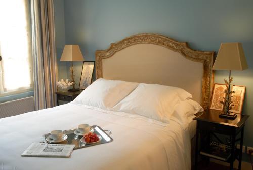 Un ou plusieurs lits dans un hébergement de l'établissement La Maison Saint Germain