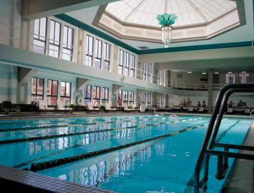 The swimming pool at or near The Los Angeles Athletic Club