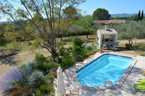 A view of the pool at Villa Valdor or nearby