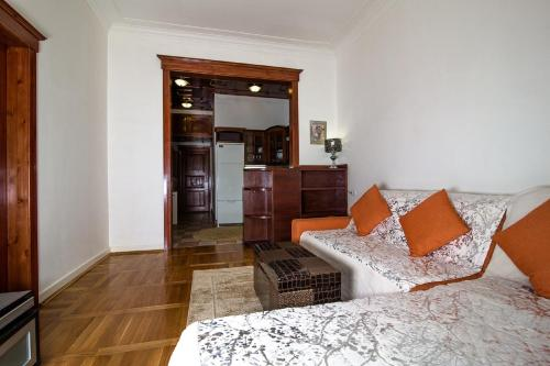 Гостиная зона в Бизнес-Апартаменты Кутузовский 35