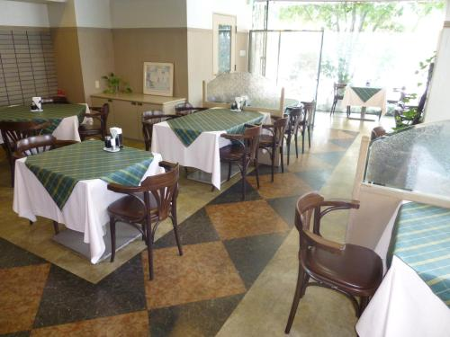 A restaurant or other place to eat at Minami Fukuoka Green Hotel