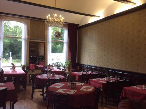 Restaurant ou autre lieu de restauration dans l'établissement Amsterdam Hotel Parklane