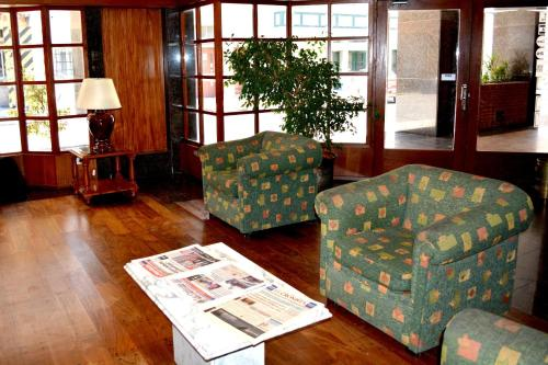 A seating area at Hotel Rosario