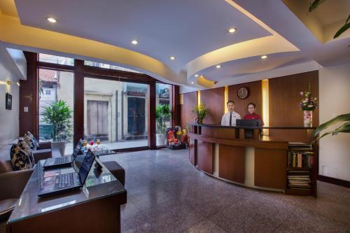The lobby or reception area at La Storia Ruby Hotel