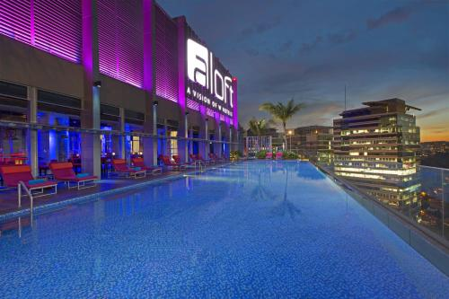 The swimming pool at or near Aloft Kuala Lumpur Sentral