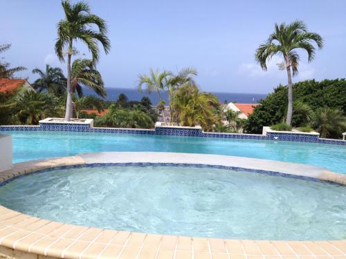 A piscina localizada em Holiday House Royal Palm Piscadera ou nos arredores