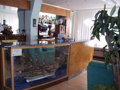 Salone o bar di Hotel Meublè Villa Patrizia