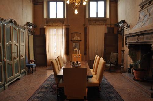 Area soggiorno di Palazzo Tornielli