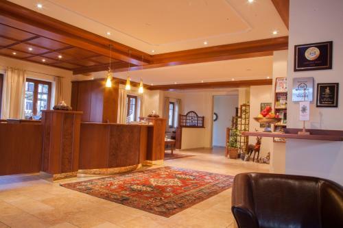 Lobby/Rezeption in der Unterkunft Garten - Hotel Sallerhof