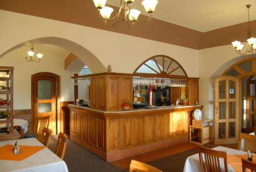 The lobby or reception area at Hotel Atawa