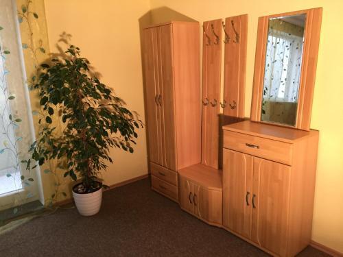 Ein Badezimmer in der Unterkunft Appartements Funk
