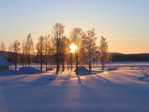 Storstrand Kursgård under vintern