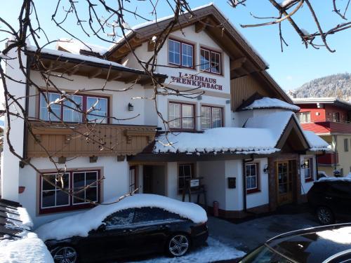 Hotel Garni Landhaus Trenkenbach v zimě
