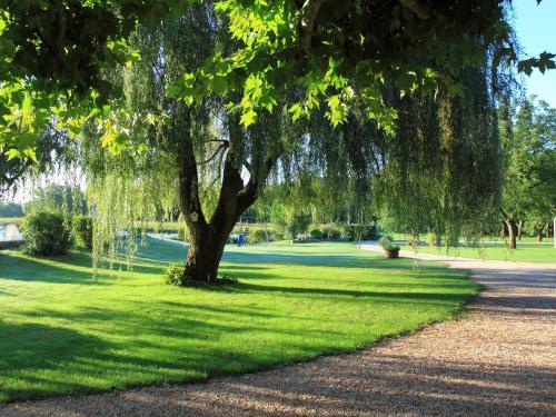 A garden outside Domaine des Escouanes