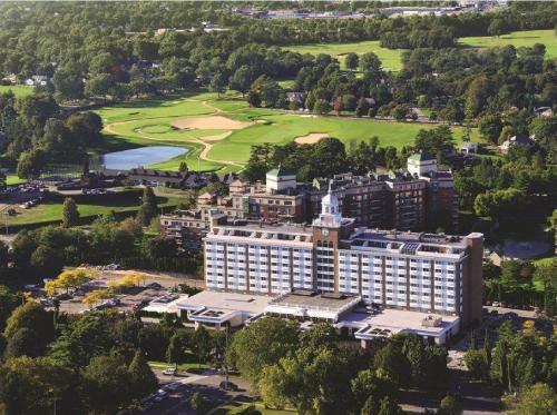 A bird's-eye view of Garden City Hotel