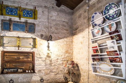 Een keuken of kitchenette bij Masseria Cianciò