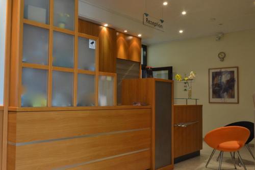 Lobby/Rezeption in der Unterkunft Fair Hotel am Rathaus
