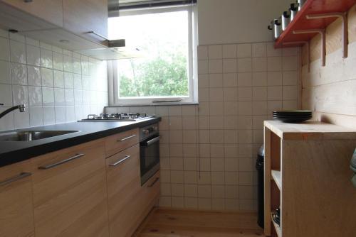 A kitchen or kitchenette at Zeealsem