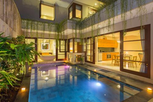 The swimming pool at or close to Beautiful Bali Villas by Nagisa Bali