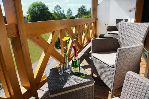Drinks at Pension Auszeit & Restaurant