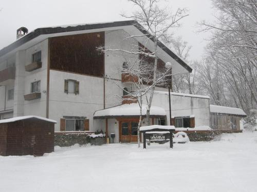 Hotel Astoria during the winter