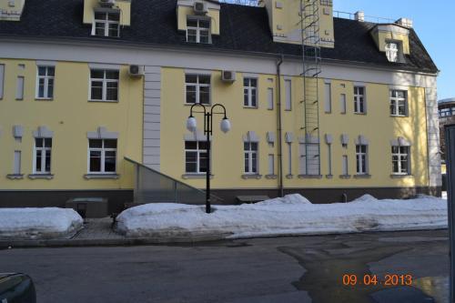 Hotel Mechta RKK Energia during the winter