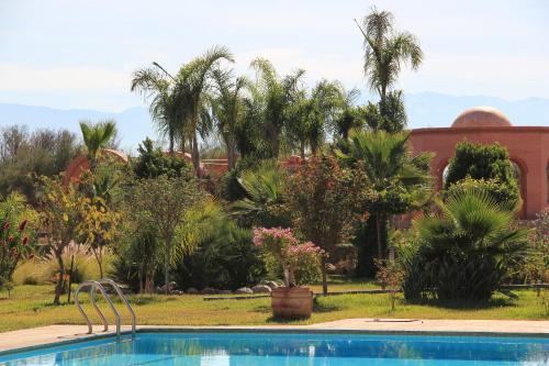 The swimming pool at or near Terra Mia Marrakech