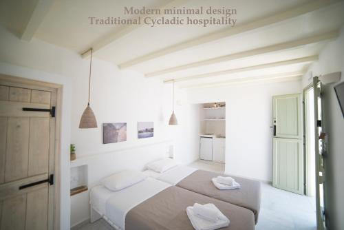 Ein Bett oder Betten in einem Zimmer der Unterkunft Nastasia Village
