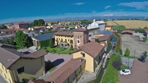 Vista aerea di La Torre Dei Canonici