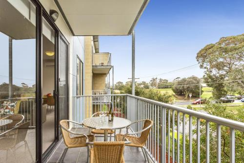 A balcony or terrace at Quest Frankston