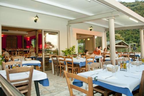 Un restaurant sau alt loc unde se poate mânca la Hotel Elina