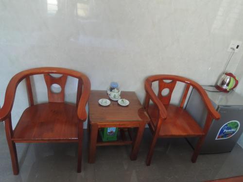 Khu vực ghế ngồi tại Hai Dang Hotel