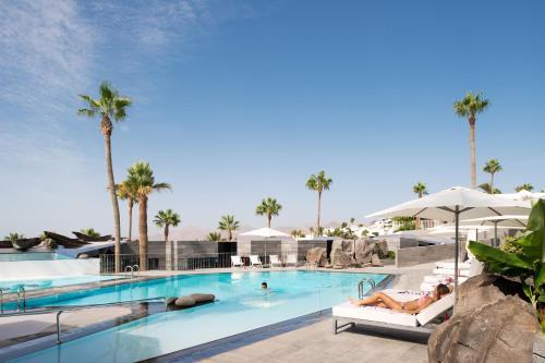 The swimming pool at or near La Isla y el Mar, Hotel Boutique