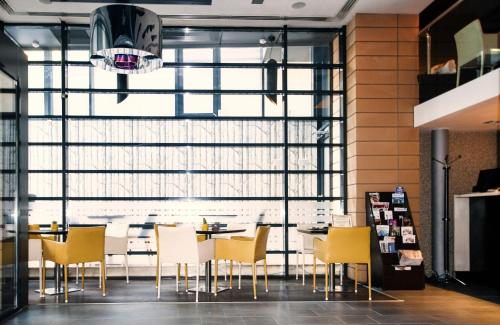 Restaurant ou autre lieu de restauration dans l'établissement Hotel Berthelot