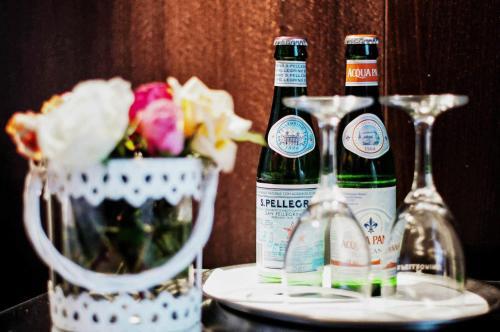 Drinks at Garni Hotel Drei Lilien