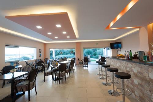 Restoran ili drugo mesto za obedovanje u objektu Crystal Blue Aparthotel