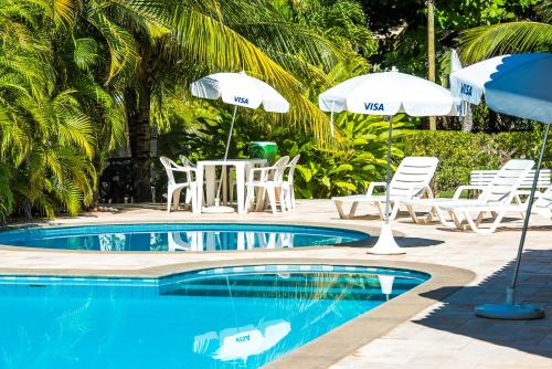 The swimming pool at or close to Hotel Eco Atlântico