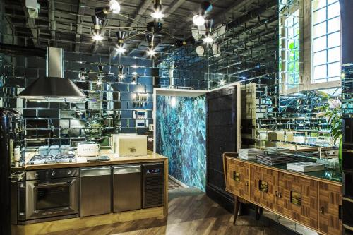 A kitchen or kitchenette at G-Rough