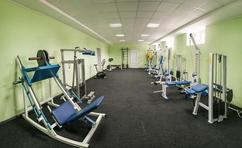 The fitness center and/or fitness facilities at Arena