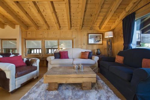 Ein Sitzbereich in der Unterkunft Apartment Beaumont