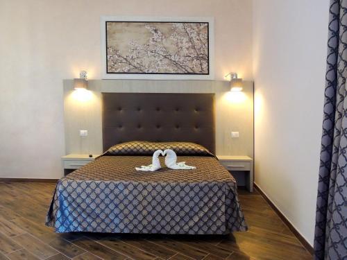 Cama o camas de una habitación en Il Sole