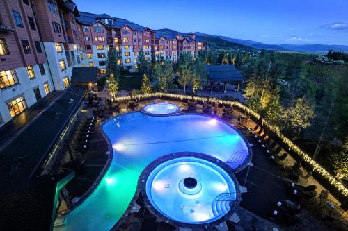 A view of the pool at The Steamboat Grand or nearby