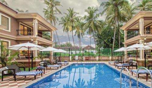 The swimming pool at or near Seashell Suites and Villas